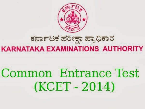 Karnataka CET 2014 Notification, Application Form