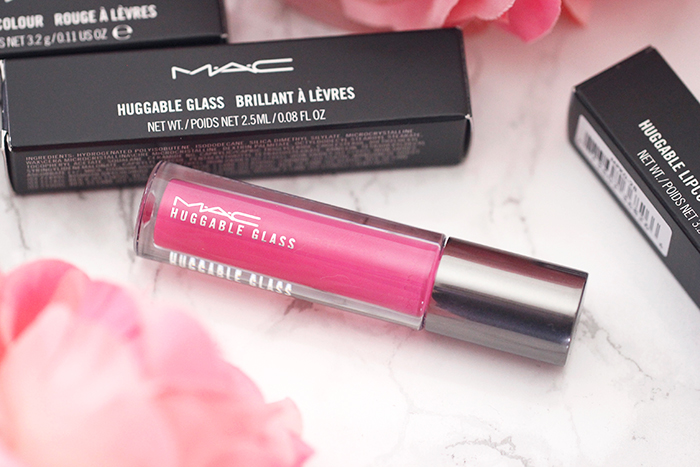 Pretty Spring Shades: MAC Huggable Lipcolour and Glass