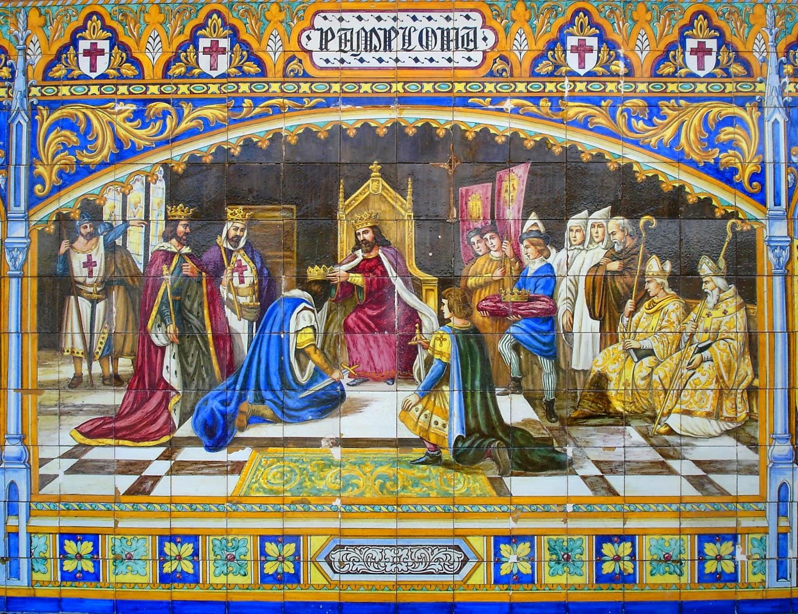 Otra historia de espa a sancho iii rey de navarra a o 1004 for El rey de los azulejos