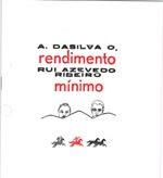 Rendimento Mínimo de A. daSilva O. e Rui Azevedo Ribeiro - Poesia (300 Exemplares)