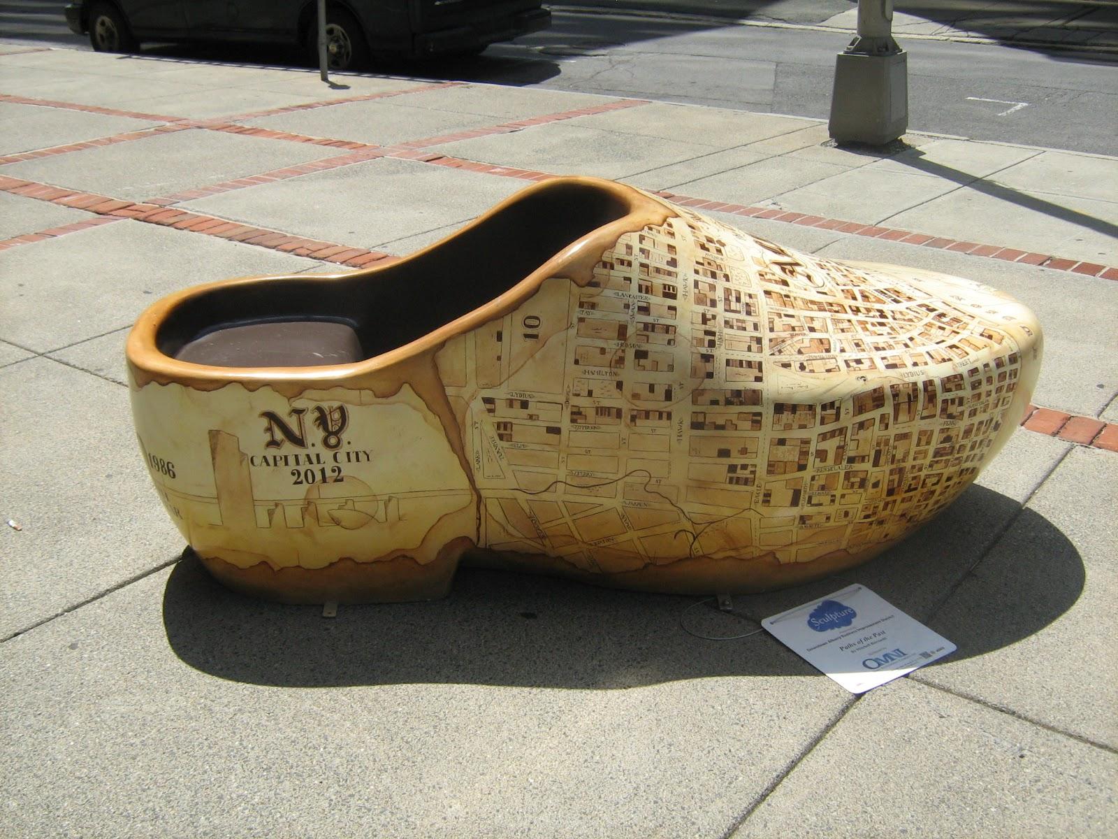 Albany (NY) History Shoes And Maps