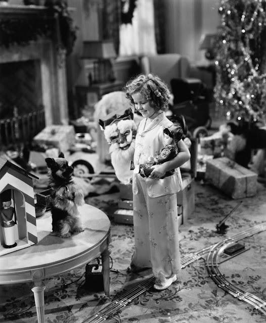 Shirley Temple Christmas