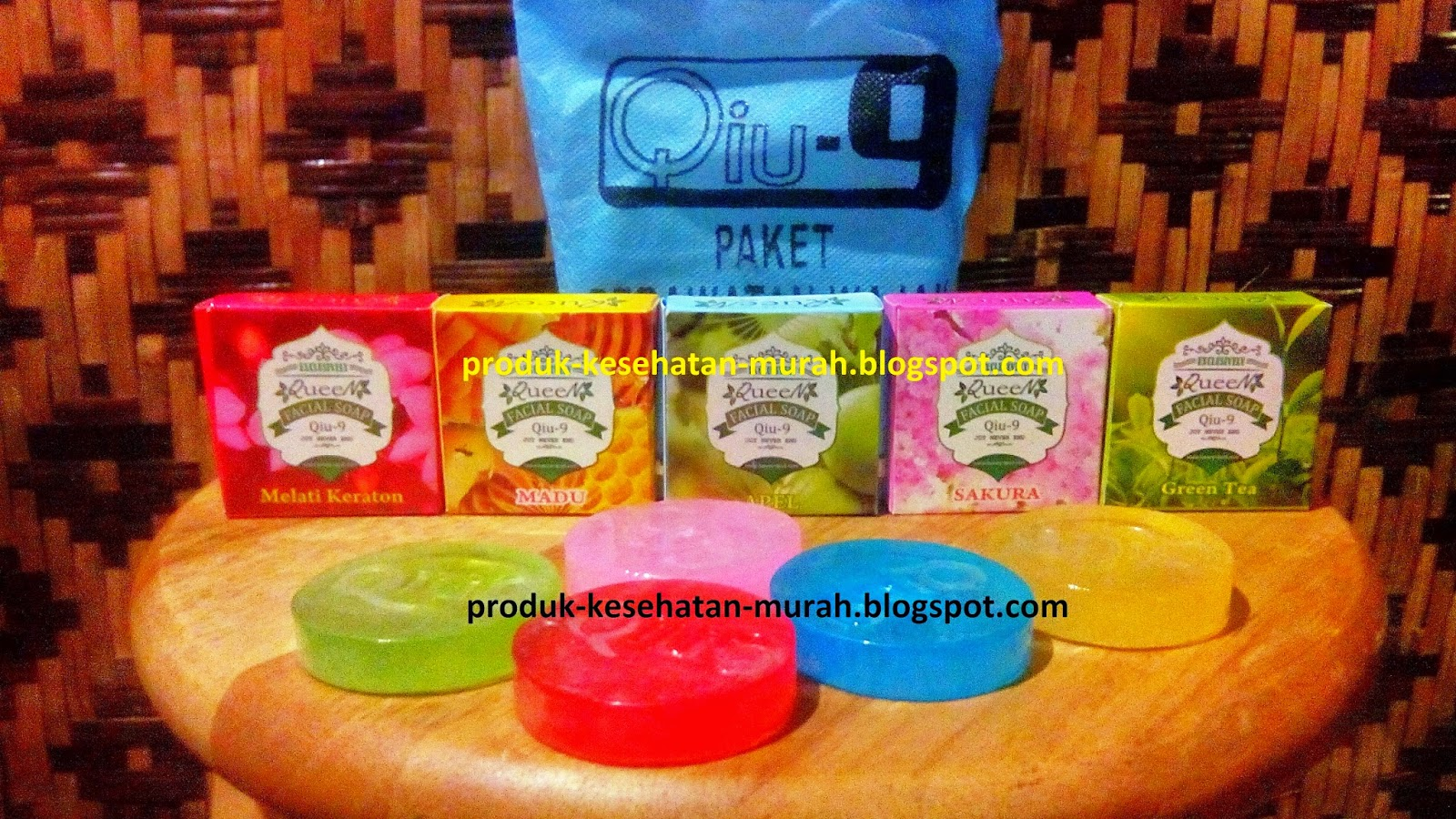 Qiu-9 Queen Facial Soap