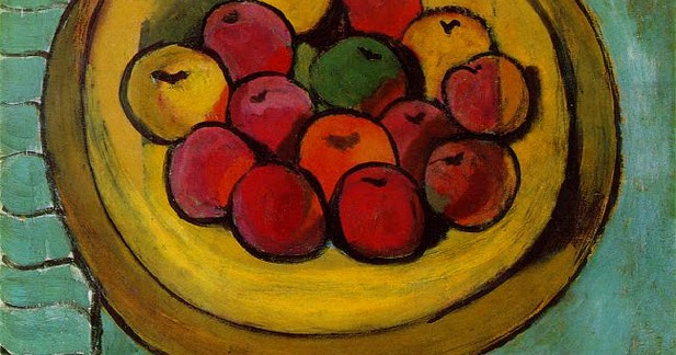 Paintings Of Green Apples