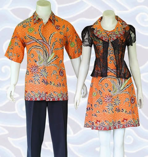 batik couple pasangan muda