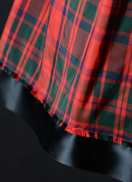 MacKintosh Silk Tartan 1950s skirt by alexandra king