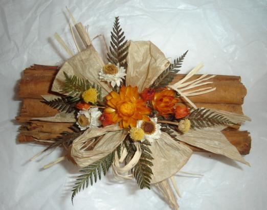 Centros de mesa con flores secas parte 2 - Arreglos florales con flores secas ...
