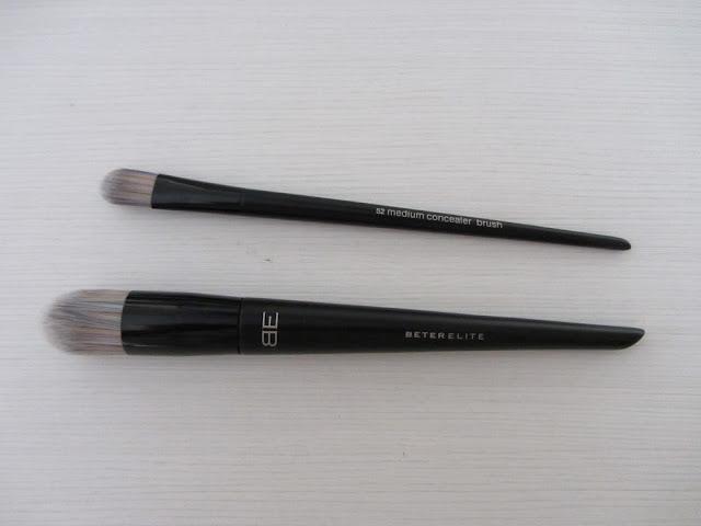 Pincel para corrector y brocha de precisión para la base de maquillaje Beter Elite