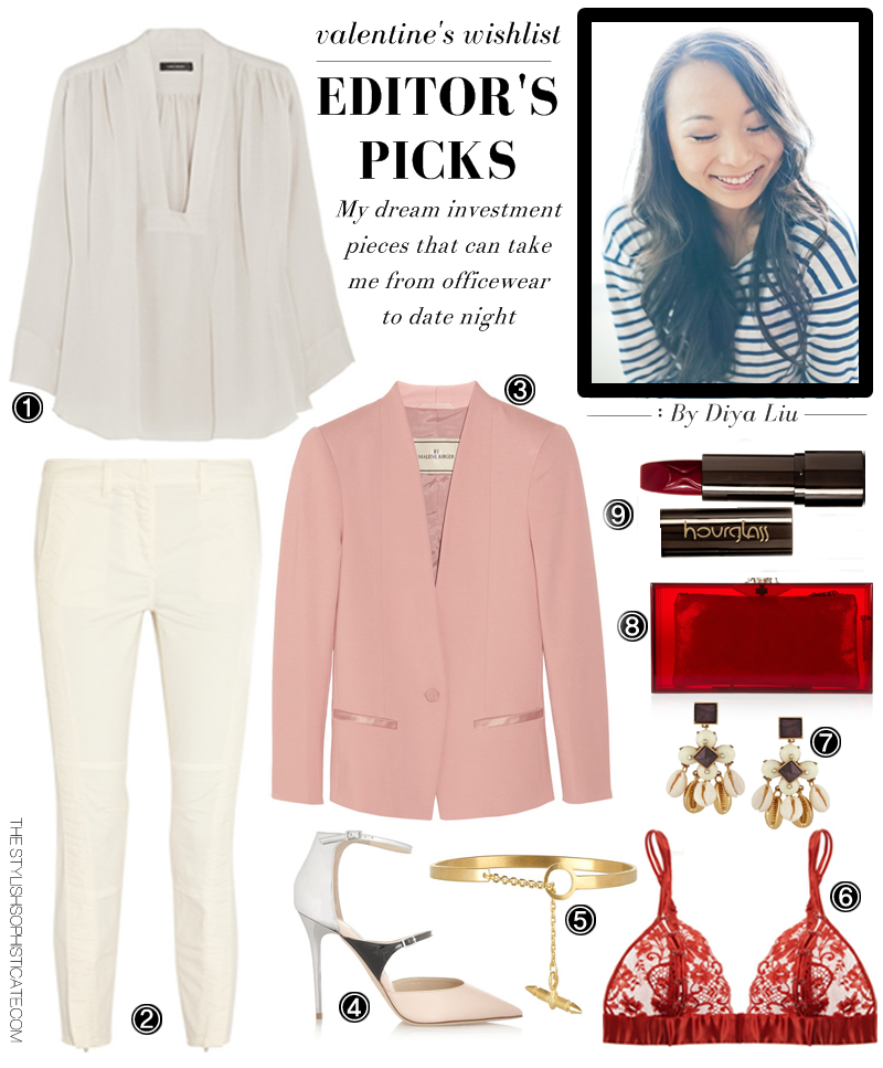 fashion picks, beauty collage, professional style magazine, stylish sophisticate, valentine's date night outfit