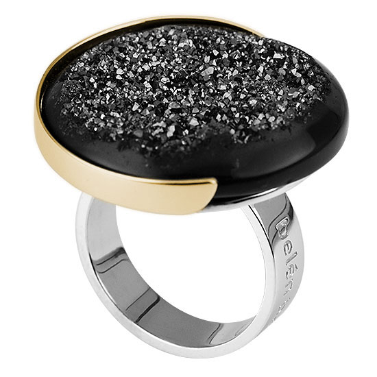 contemporary ring, statement rings, black jewelry, druzy jewelry