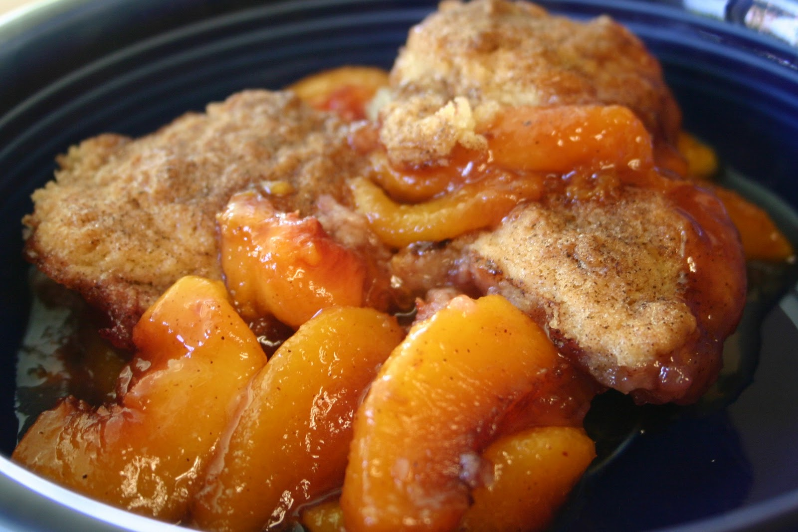 Sweet Treats & Inspiration: A Sweet Treat: {Southern Peach Cobbler}