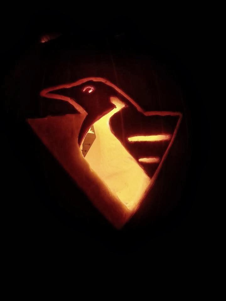 Penguin Pumpkin Carving my First Pumpkin Carving Ever