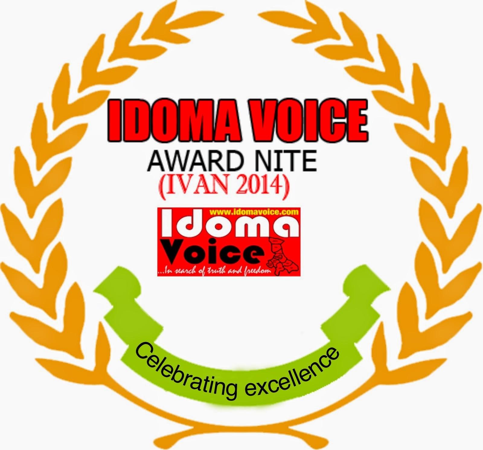 IDOMA VOICE AWARD NITE (IVAN 2014)
