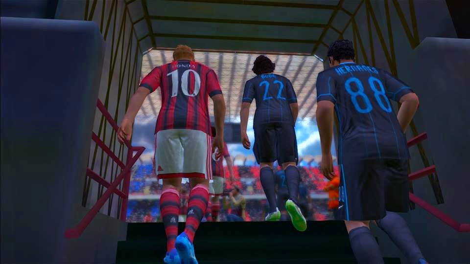 enable Entrance Scenes di PES 2015