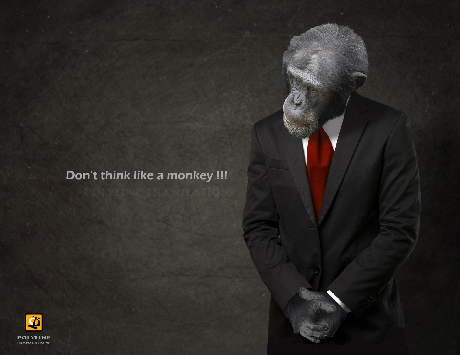 Don't think like a Monkey!!!