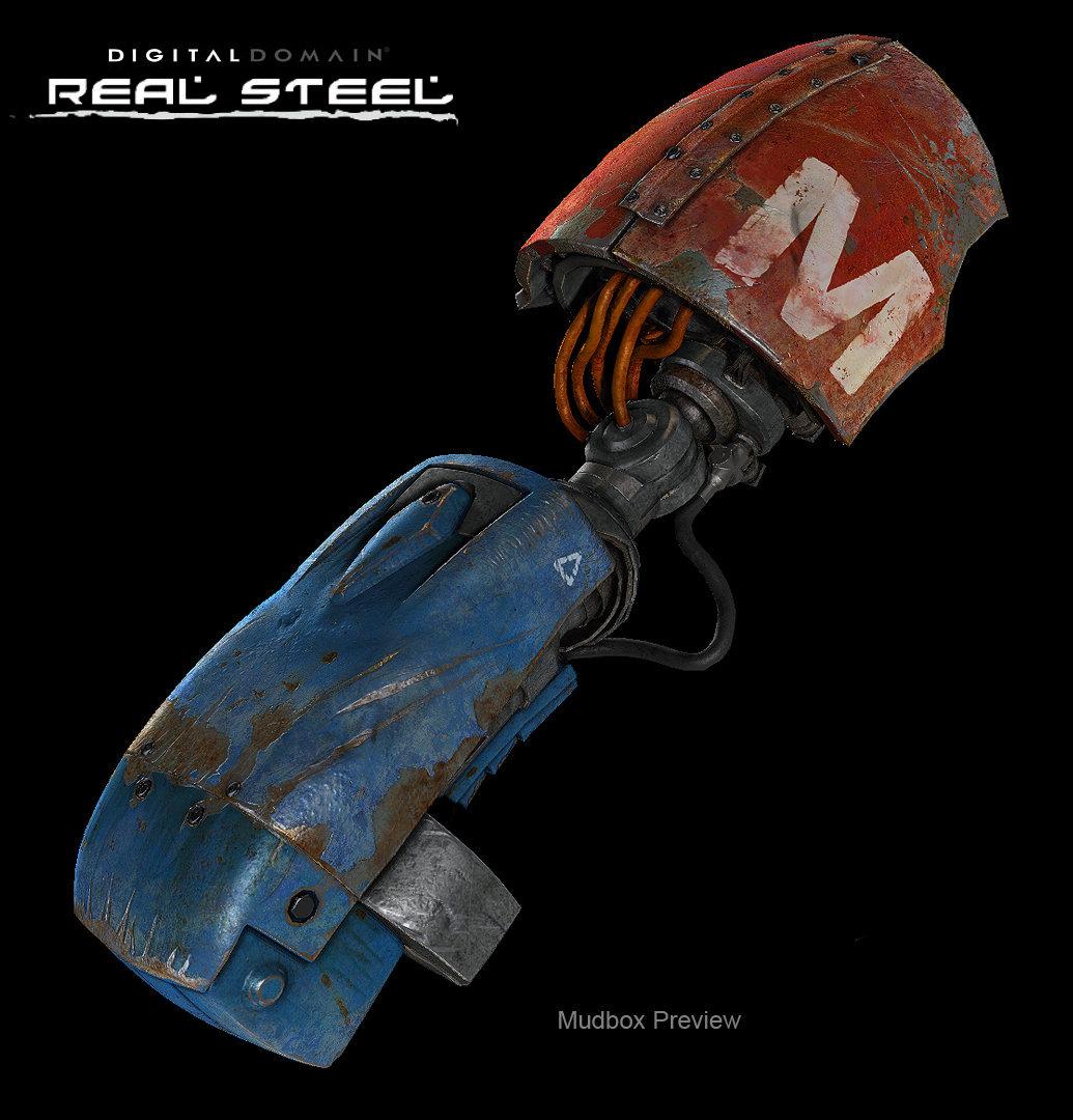 Ben Neall - Texture Artist: Real Steel