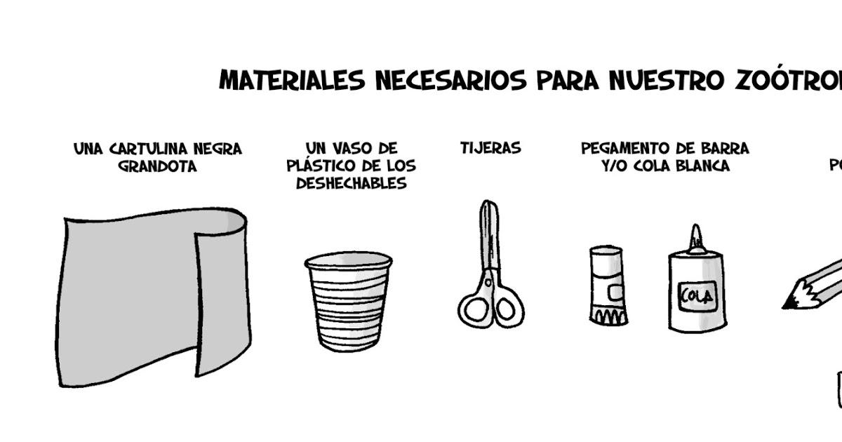 Scar catal n zootropo casero y 39 reciclao 39 for Materiales para un vivero forestal
