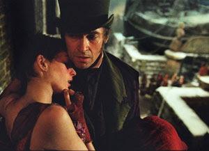 Anne Hathaway y Hugh Jackman en Los miserables