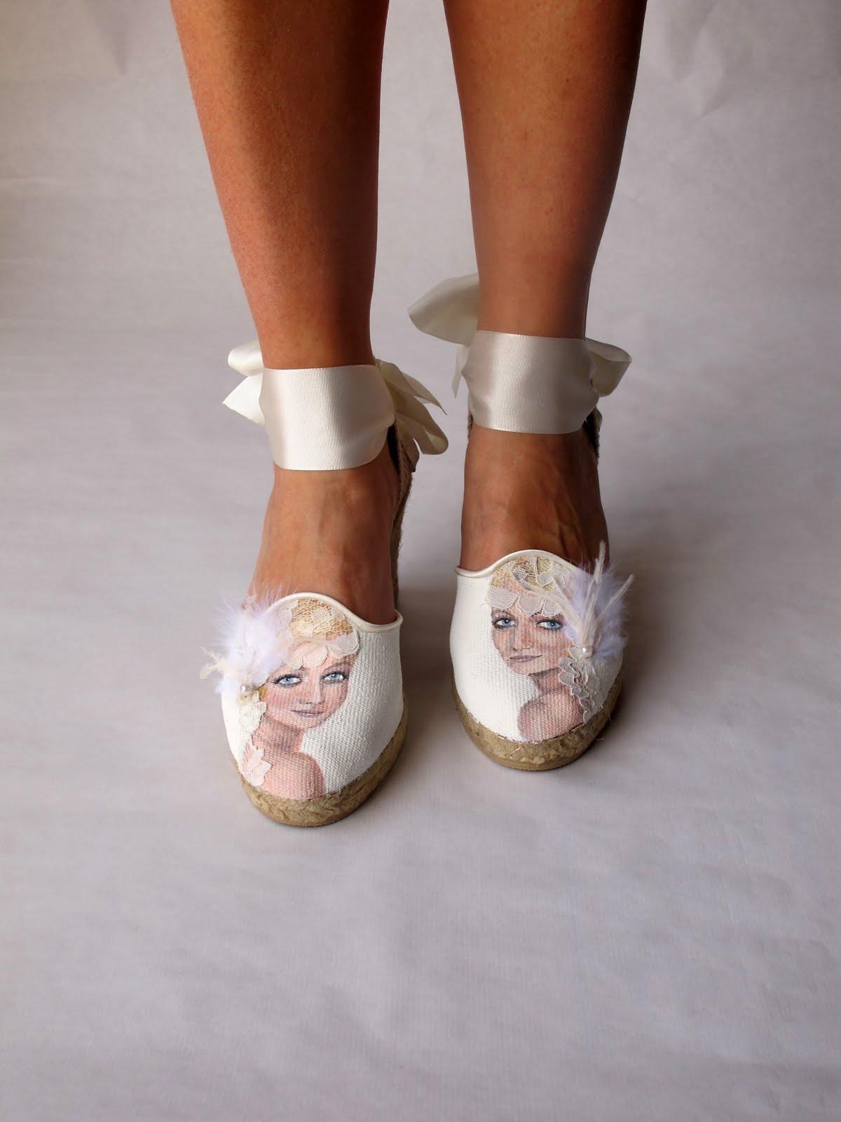 imagenes de zapatillas para novia - ¿Cómo elegir los zapatos perfectos para tu boda?