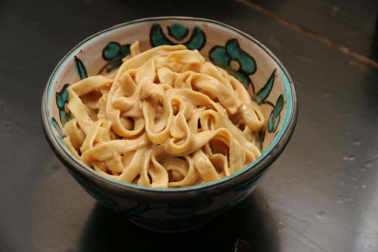 tiramisu: peanut butter noodles