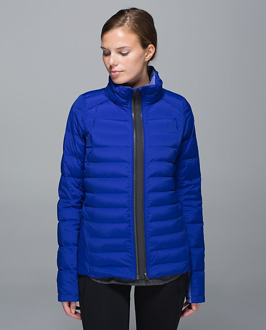 lululemon fluffed up jacket pigment