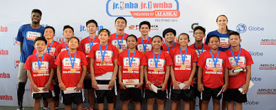 ALASKA presents JR. NBA / JR.WNBA PHILIPPINES 2016 to Encourage Youth Basketball Participation