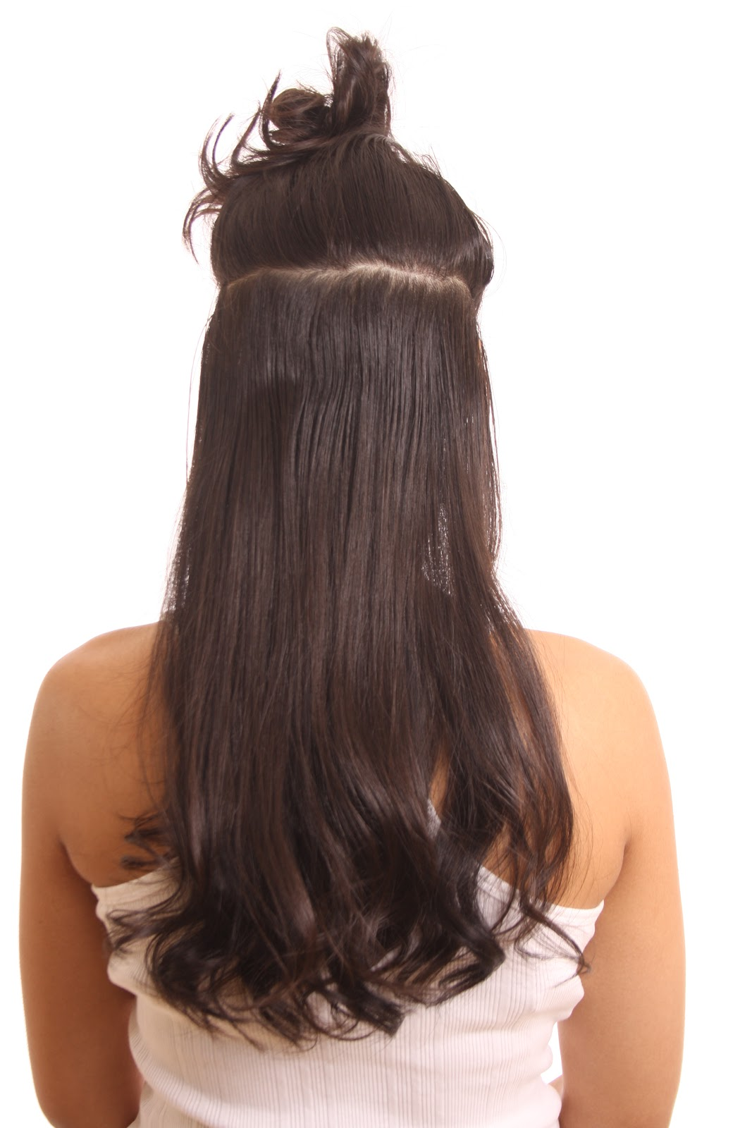 O Snap Clip In Hair Extensions How To Snap On O Snap Clip In Hair