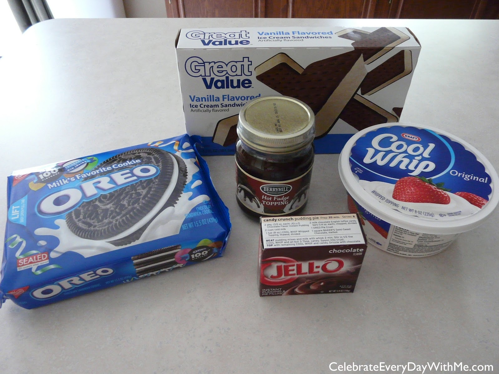 Ice Cream Sandwich Oreo Cool Whip Cake