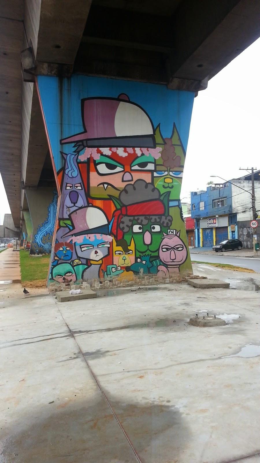 Trabalho da Artista Chivitz Minhau - Corrida de Rua