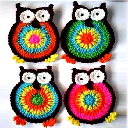 Hooty Owl Coasters