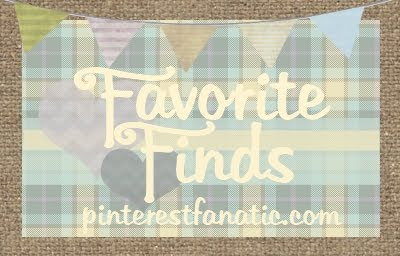 Favorite Finds Logo, Pinterest Fanatic