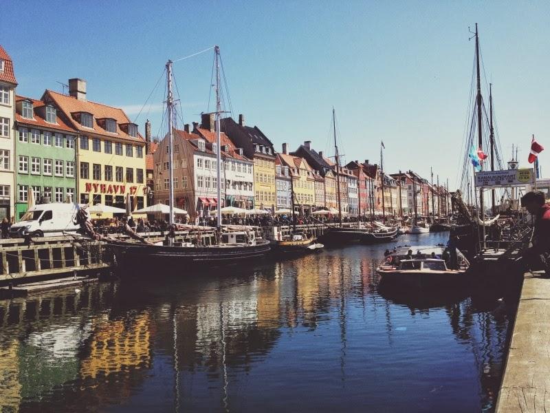 Дания, Копенгаген, море