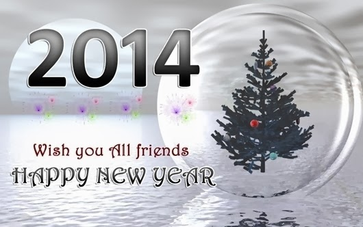 Happy New Year: New Year Wishes Quotes 2014 Beautiful Happy New Year ...