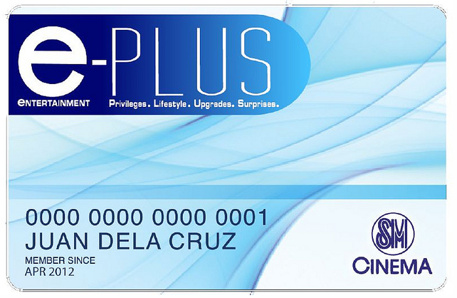 e-PLUS Card Default Look