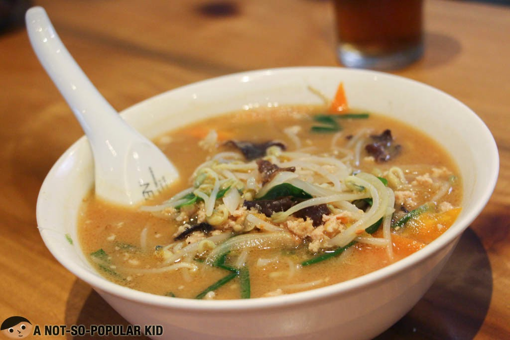 The tasty Miso Ramen here in Kenji Tei Ramen House