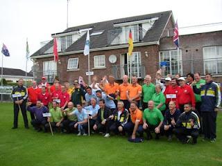 Equipos participantes IV Copa del MUndo Pitch & Putt en Irlanda