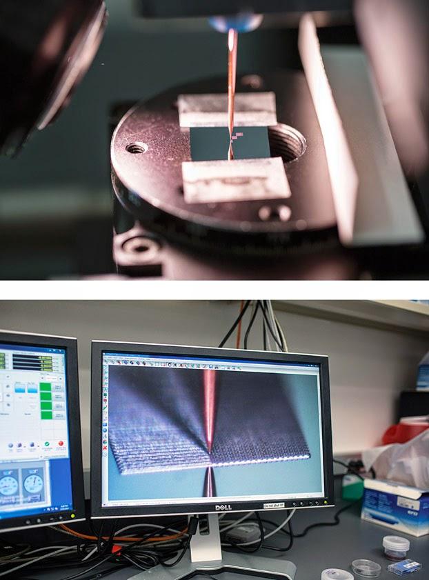 Met deze printkop kunnen details tot enkele micrometers dik geprint worden.