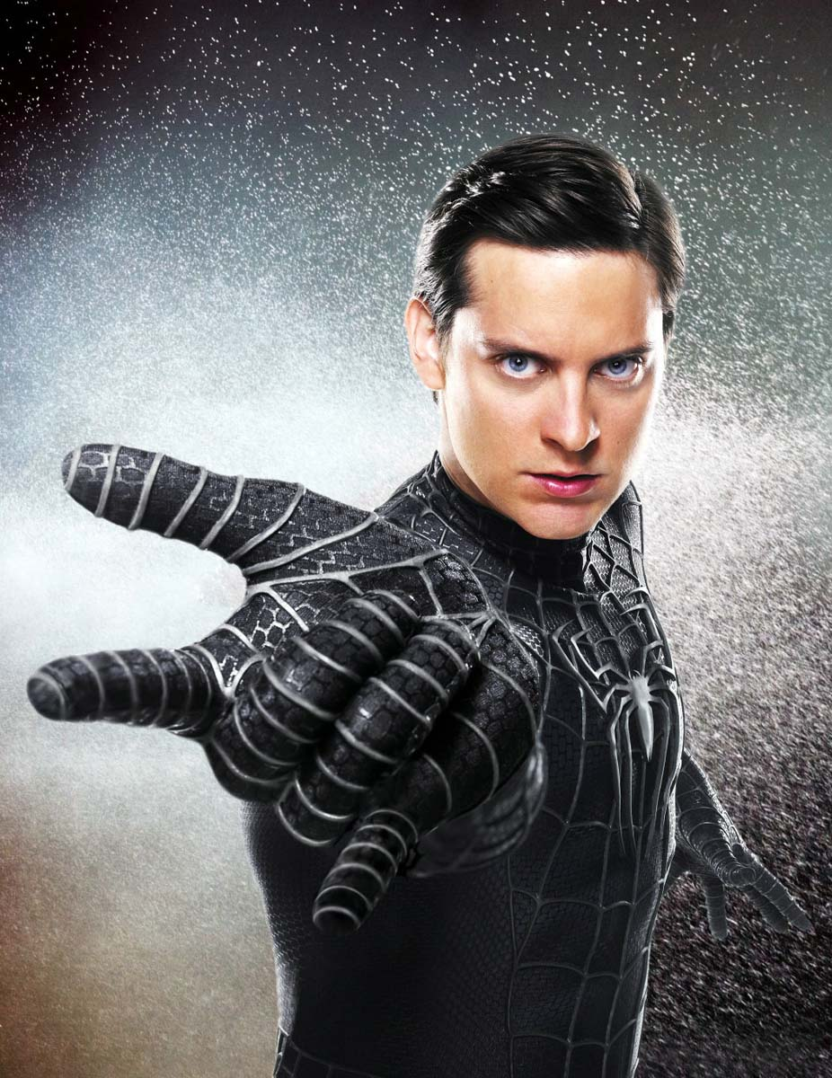 Tobey maguire black spiderman - photo#1