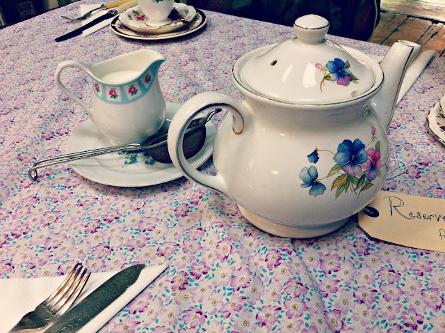 Vintage teapot at Cox & Baloney, Bristol