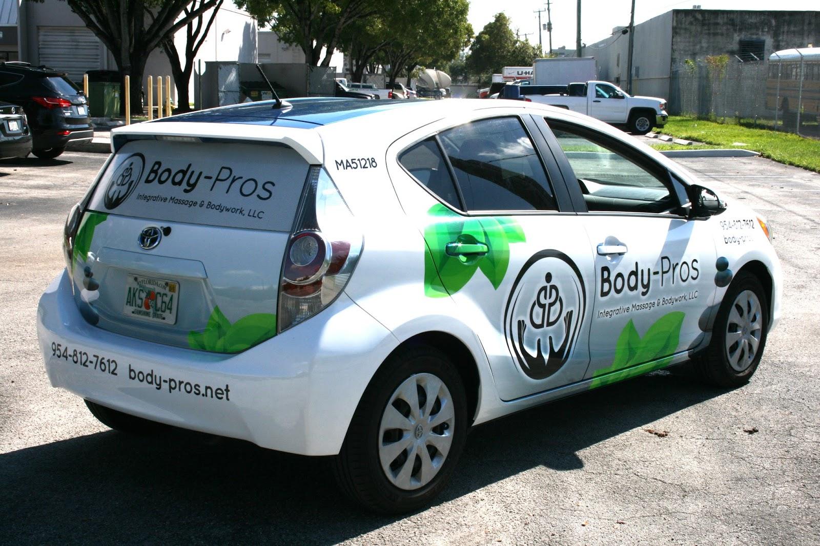 Need A Car >> Fort Lauderdale Florida Car Wrap Marketing | Massage Therapist Car Wrap