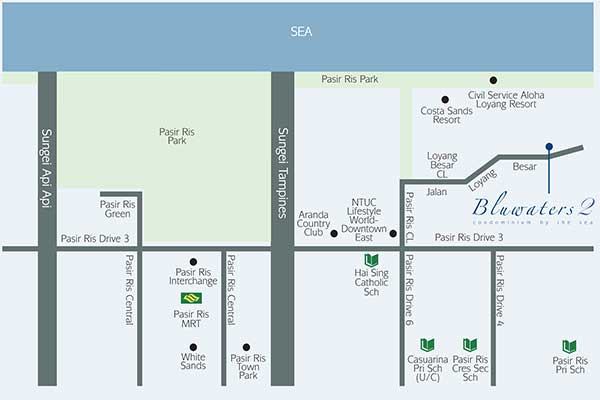 Bluwaters 2 Location