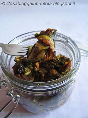 zucchine scapece contorno cosa blogga in pentola ricetta cosabloggainpentola