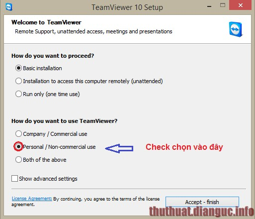 Cách khắc phục lỗi Teamviewer chỉ sử dụng được 5 phút giới hạn thời gian