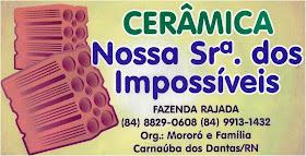 CERÂMICA Nª SENHORA DOS IMPOSSÍVEIS