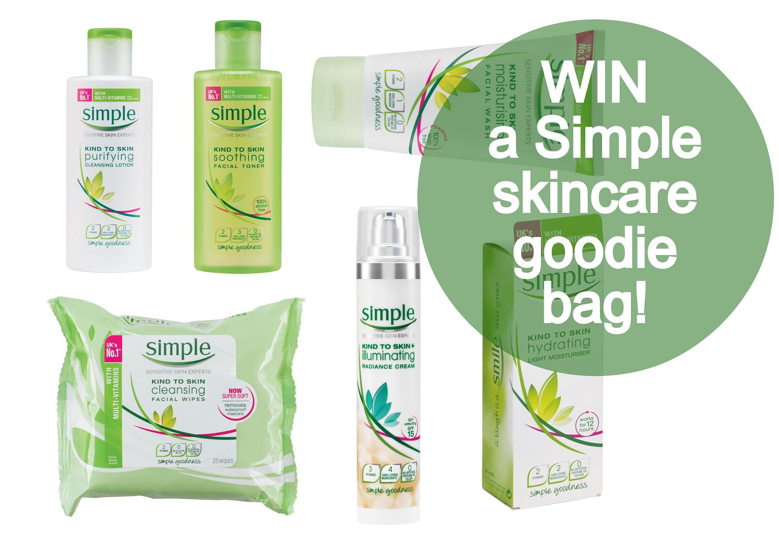 Simple Skincare Kind to City Skin giveaway