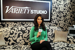 Mallika Sherawat at Variety Studio Portrait Session During Cannes