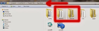 Letak File Database Dapodik 2013