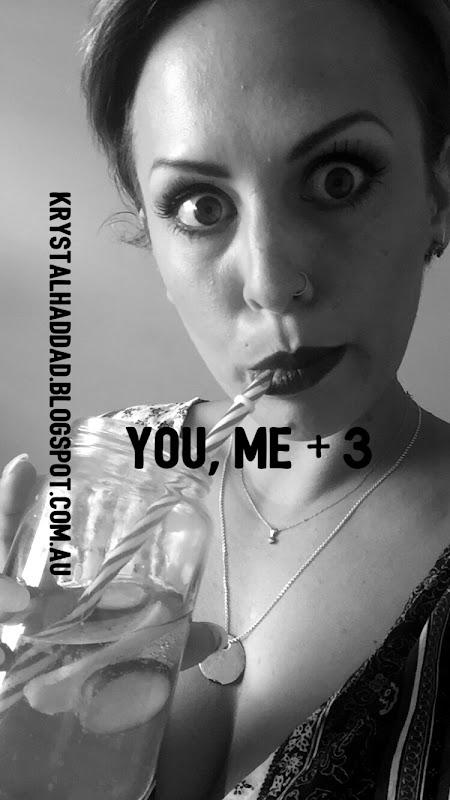 You, me + 3