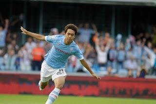Park Chu Young, jugador coreano del Celta de Vigo