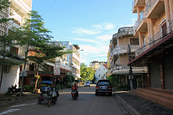 City streets of Pakse - Laos